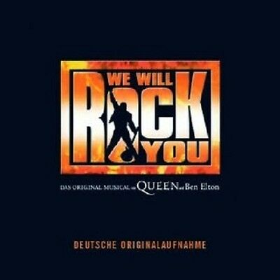 The German Cast Of We Will Rock You Cd Neu