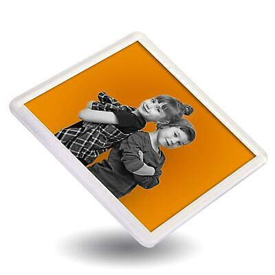 100 QUALITY BLANK CLEAR SQUARE COASTERS 90mm x90 INSERT