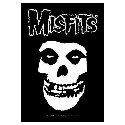 """MISFITS """"FIEND SKULL"""" Fabric Poster Oversize 30""""X40"""" Poster NEW"""