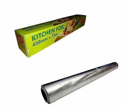 1 Aluminum  KITCHEN/CATERING FOIL  450mm X 75m - 18'' food