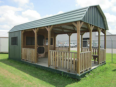 12X24 PARTY BARN & OUTDOOR KITCHEN offered in Texas