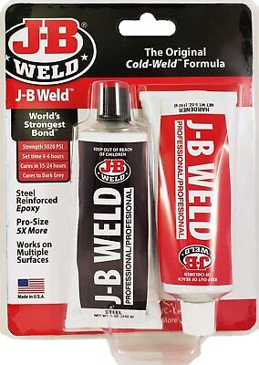 New J B Weld 8280 Industro Large 10Oz Weld Adhesive Usa