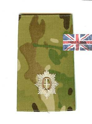 2 x Multicam British Guards 2nd Lieutenant RANK SLIDES