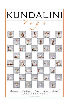 photo about Bikram Yoga Poses Chart Printable called Incredibly hot YOGA POSTER 12\