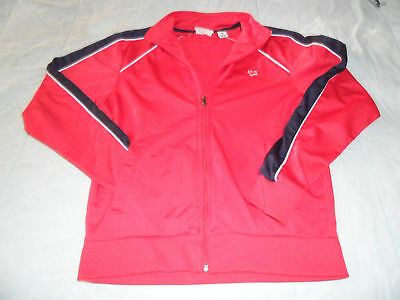 Limited Edition Aeropostale Red Zipper Jacket Very nice