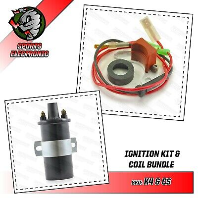 MGB electronic ignition kit sports coil + rotor arm 45D