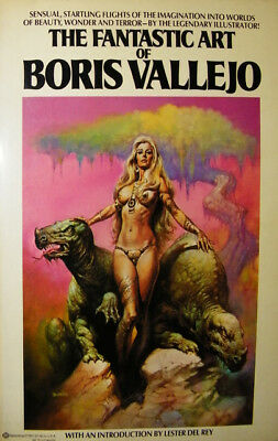 Fantastic Art Of Boris Vallejo Eo -1978
