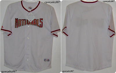 Majestic Washington Nationals Baseball Jersey Youth MLB