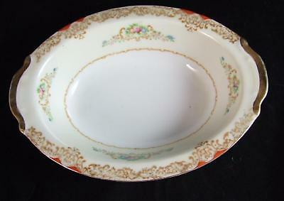 TUILLERIE CHINA Japan Large OVAL VEGETABLE BOWL 10.5""