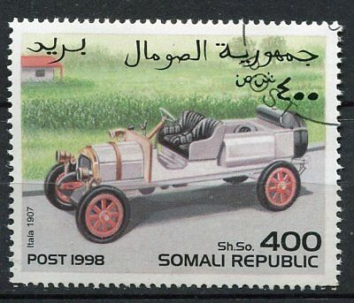 Timbre  Voiture Itala 1907