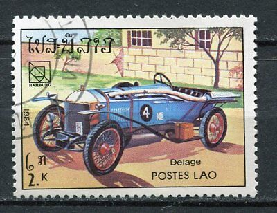 Timbre  Voiture Delage N°4