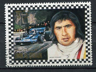 Timbre Voiture Formule Course Jackie Stewart