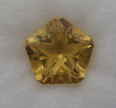 5.12 Cts.  NATURAL CITRINE  FANCY CUT