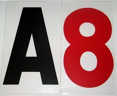"""New Changeable Rigid Sign Letters Set 8 inch on 9"""" Back"""