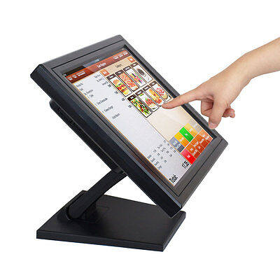 "ANGEL POS 15"" Touch Screen LED TouchScreen Monitor Retail Kiosk Restaurant Bar"