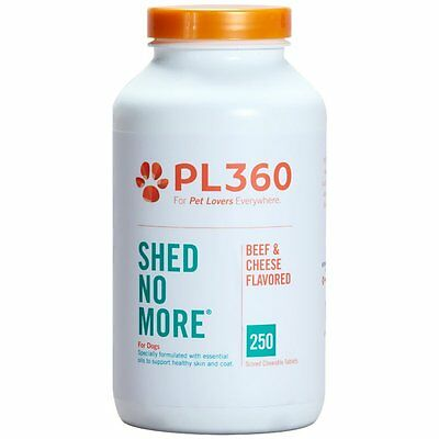 Shed No More for Dogs Beef & Cheese Flavor 250ct