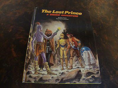 The Lost Prince---A Droid Adventure---Hard Cover---1985