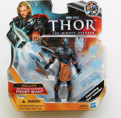 Marvel Studio THOR Deluxe Frost Giant Ice Attack, NEW