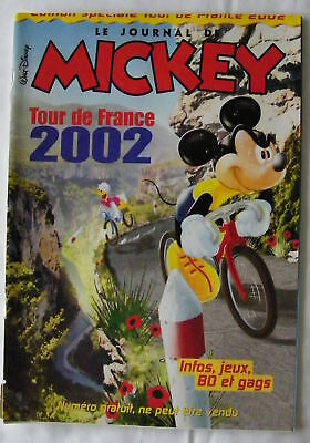 Le Journal De Mickey Tour De France 2002