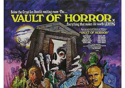 Vault of Horror - Terry Thomas - Tom Baker - A4 Laminated Poster