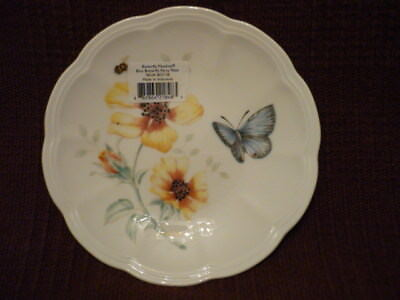 "LENOX Butterfly Meadow Blue Butterfly ""party"" plate NWT!"