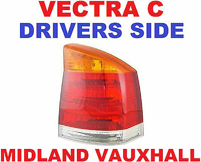 Vectra C 2002-08 New Back Light Rear Lamp Lens Drivers Off Side Ls Life Dti Club