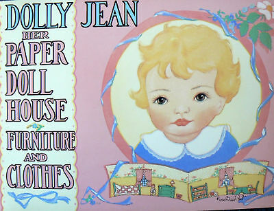 Dolly Jean Paper Doll House Fern Bisel Peat Shackman