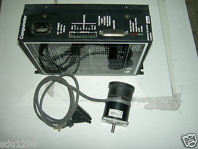 Parker Compumotor Microstep Drive S6-Drive w/motor