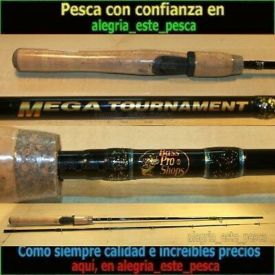 PESCA - CAÑA SPINNING BASS PRO SHOPS MEGA TOURNAMENT 1.93mts