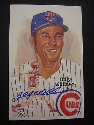Billy Williams Autographed Perez-Steele Hall Of Fame Card #2342