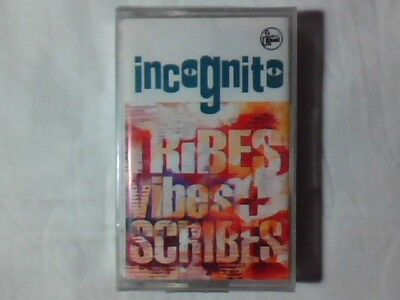 INCOGNITO Tribes vibes and scribes mc cassette k7 NUOVA