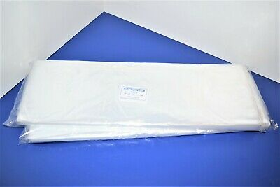 200 CLEAR 20 x 20 POLY BAGS PLASTIC LAY FLAT OPEN TOP PACKING ULINE BEST 1 MIL