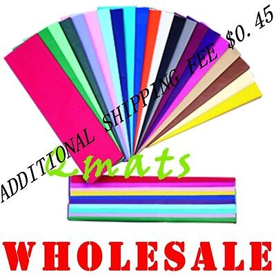20 Tissue Paper Gift Wrap 20x26 U-PICK-COLOR WHOLESALE