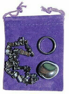 PROTECTION : HEMATITE GROUNDING SET - Wicca Pagan Witch
