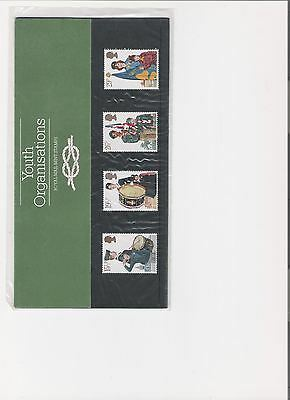 1982 Royal Mail Presentation Pack Youth Organisations Mint Decimal Stamps