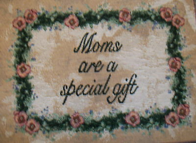Mom's Special Gift S1204 Tapestry Word Pillow Cotton Fabric