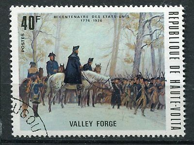 Timbre  Bicentenaire Us Valley Forge