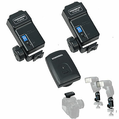 PT-04 TM Wireless Flash Trigger set with 3 receivers