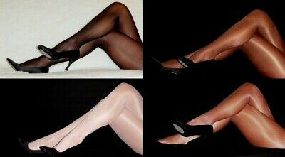 PEAVEY GLOSSY TIGHTS SHINY Shimmery 40 Denier Choose A B C D Q Hooters Pantyhose