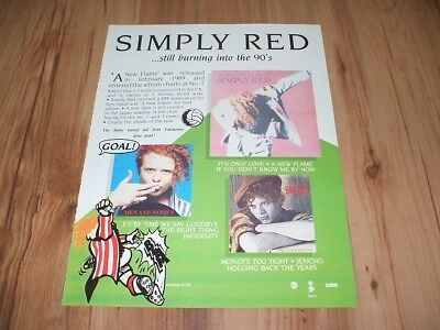 Simply red-1990 magazine advert