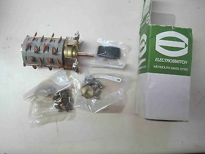 New Electro-Switch Rotary Switch 10A 121708AA-3