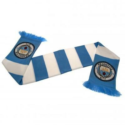 Manchester City FC OFFICIAL Scarf NEW Crest Gift