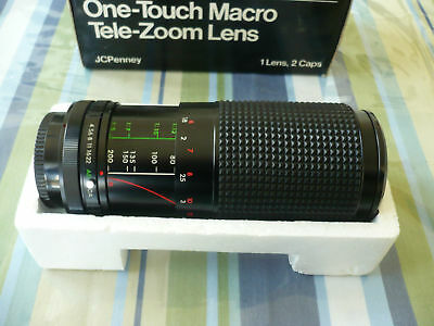 JCPENNEY MC ZOOM Lens 80-200mm f4.0 for MINOLTA CAMERA