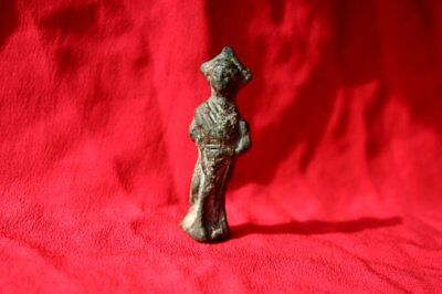 Classic Ancient Roman Bronze Figure Antique