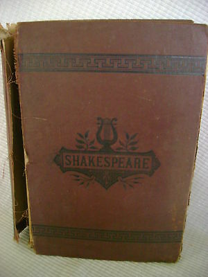 SHAKESPEARES COMPLETE WORKS - AVON EDITION -ILLUSTRATED