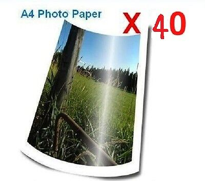 40sheets X A4 Resin Glossy/Satin Photo Paper 260gsm