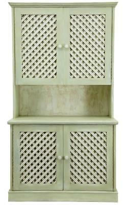 Handmade Reproduction Rustic Shabby Kitchen Cupboard