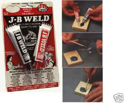 Weld in a Tube Liquid JB WELD bonds cast Iron & Steel