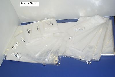 200 CLEAR 8 x 24 POLY BAGS PLASTIC LAY FLAT OPEN TOP PACKING ULINE BEST 1 MIL