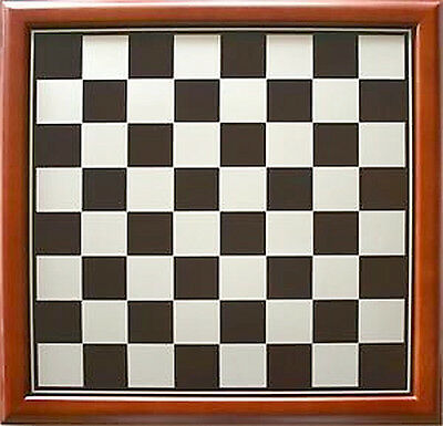 NEW Traditional Wood Timber Framed Chess Board 35cm
